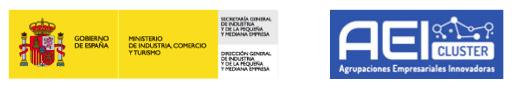 Logos Ministerio de Industria y Agrupaciones Empresariales Emprendedoras