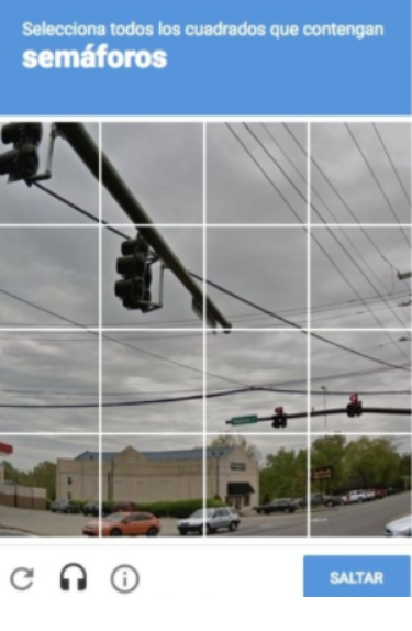 captcha semáforo